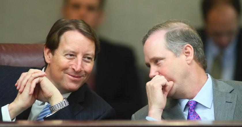 Bill Galvano (Left) and Wilton Simpson (Right)