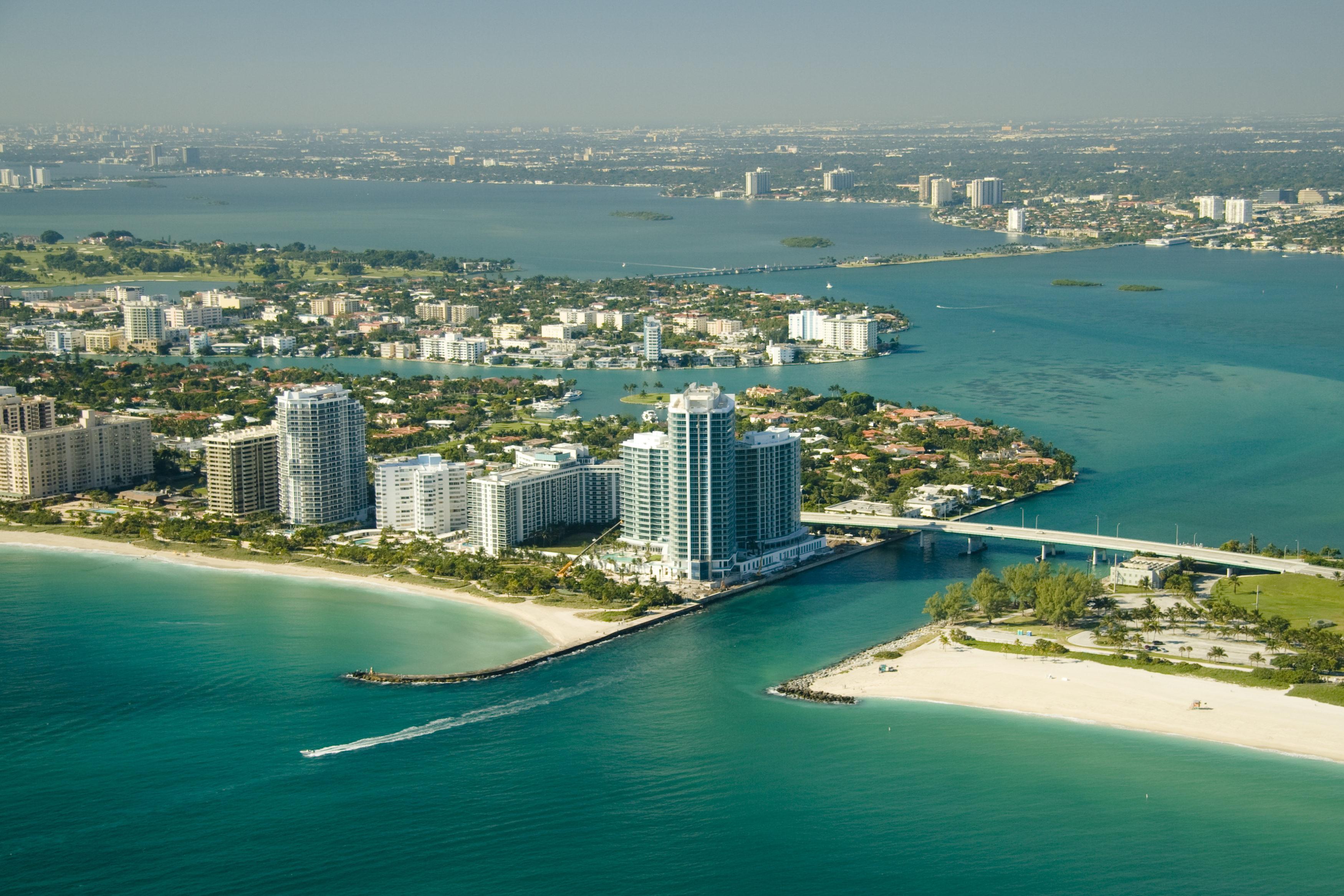 Miami seashores