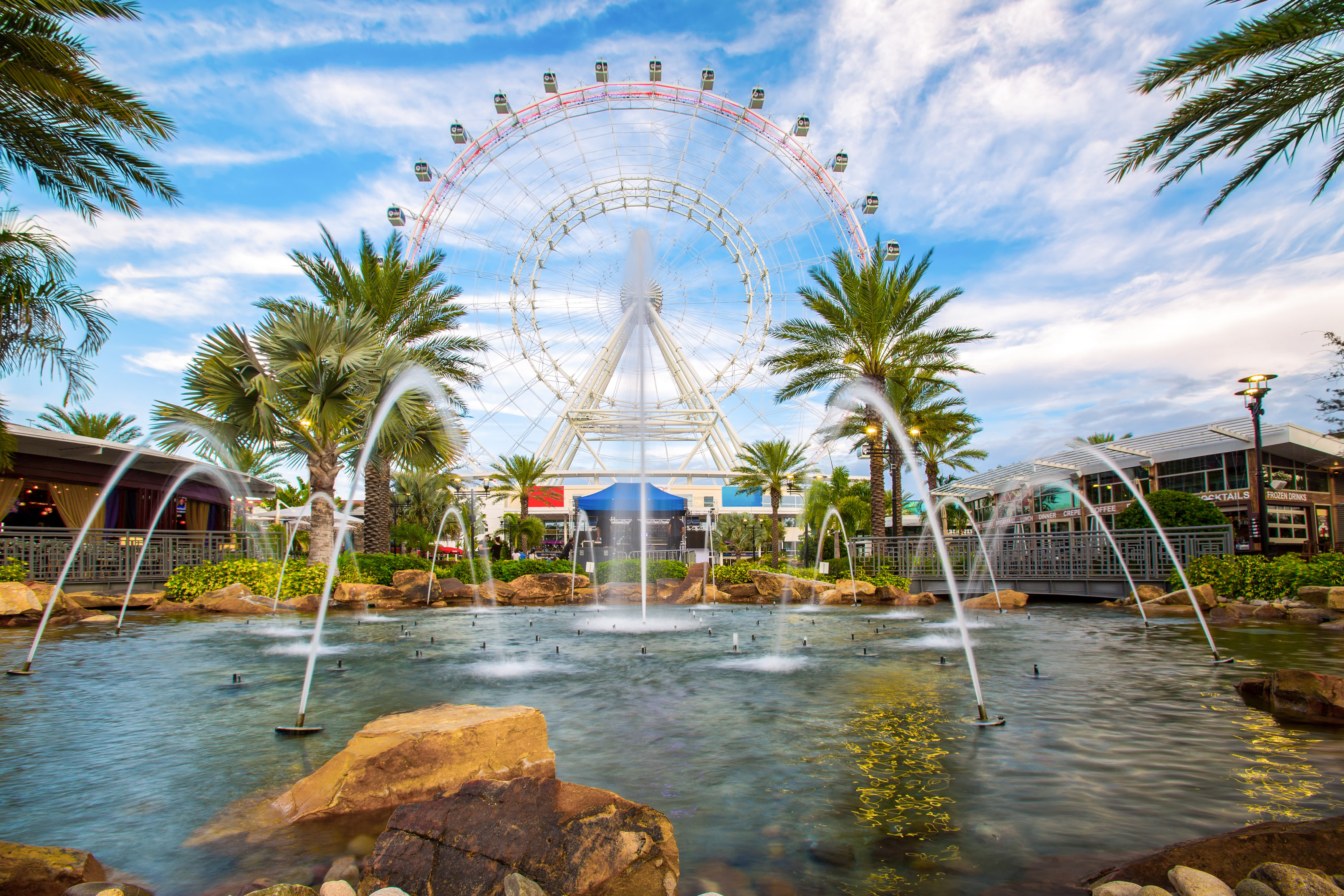 Orlando and the largest observation wheel on the east coast