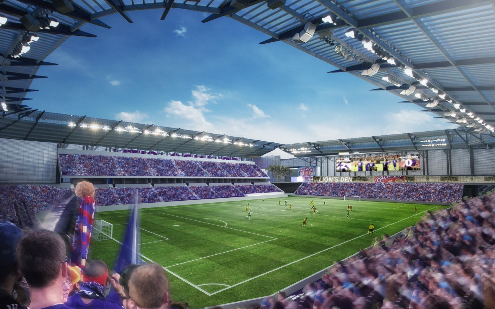 Soccer Team Says Orlando Stadium To Be Completed In 12 To 14 Months