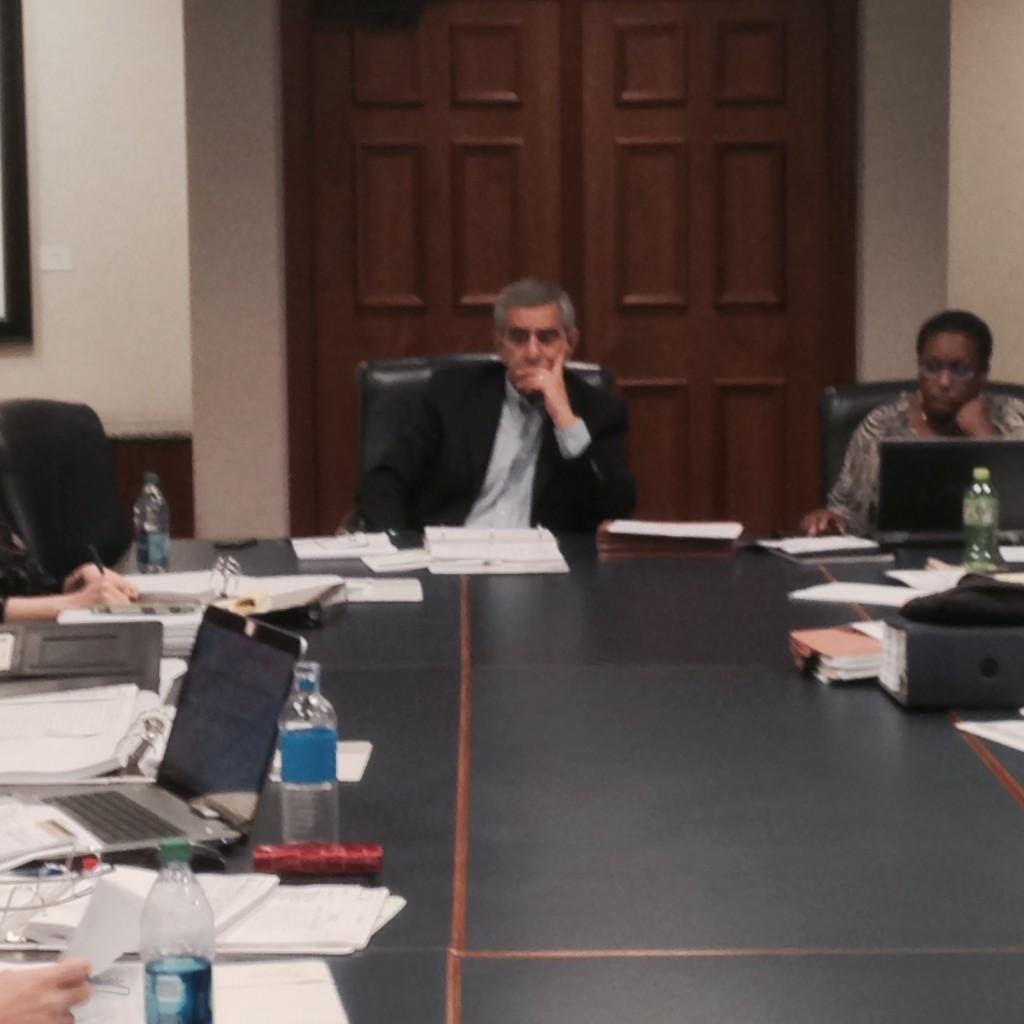 Sam Mousa Budget Meetings