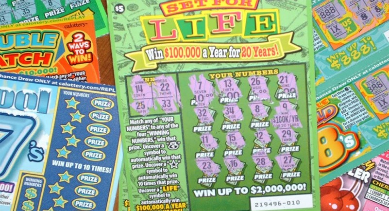 Lawmakers seek to limit Lottery scratch-off games
