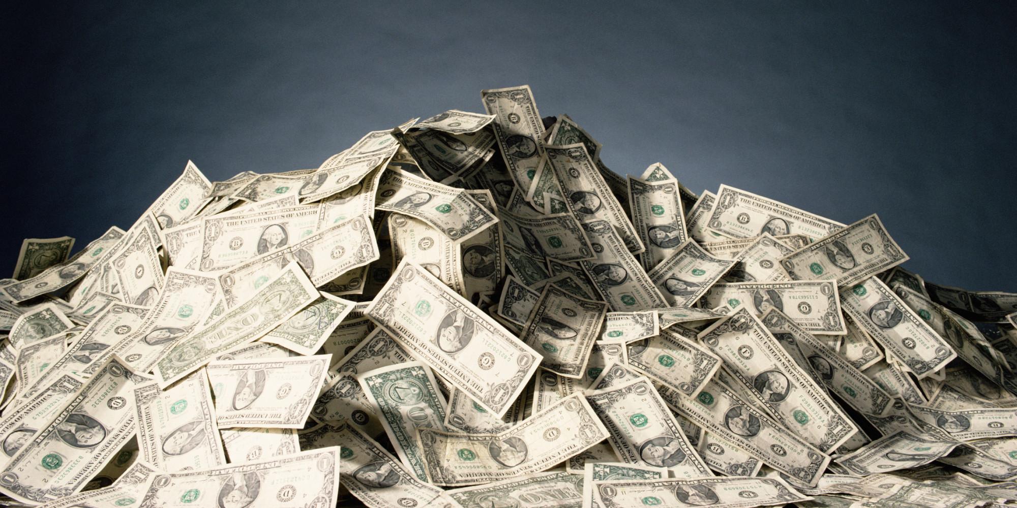 Pile of cash