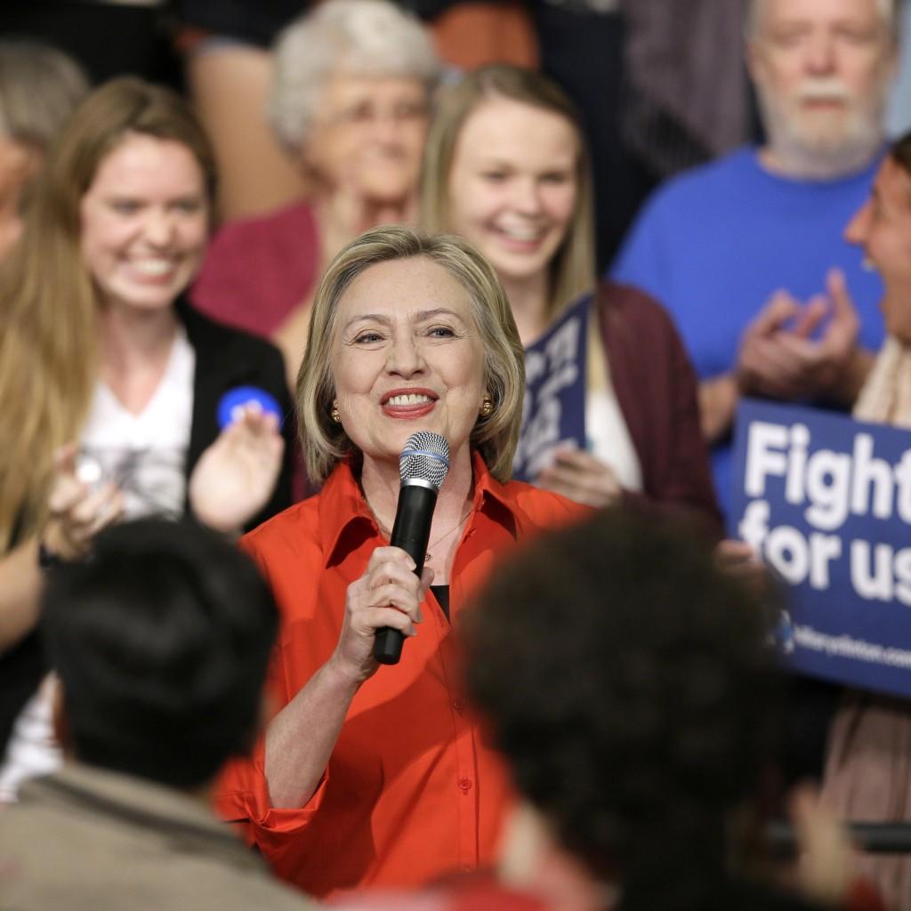 Hillary Clinton AP photo 11_6