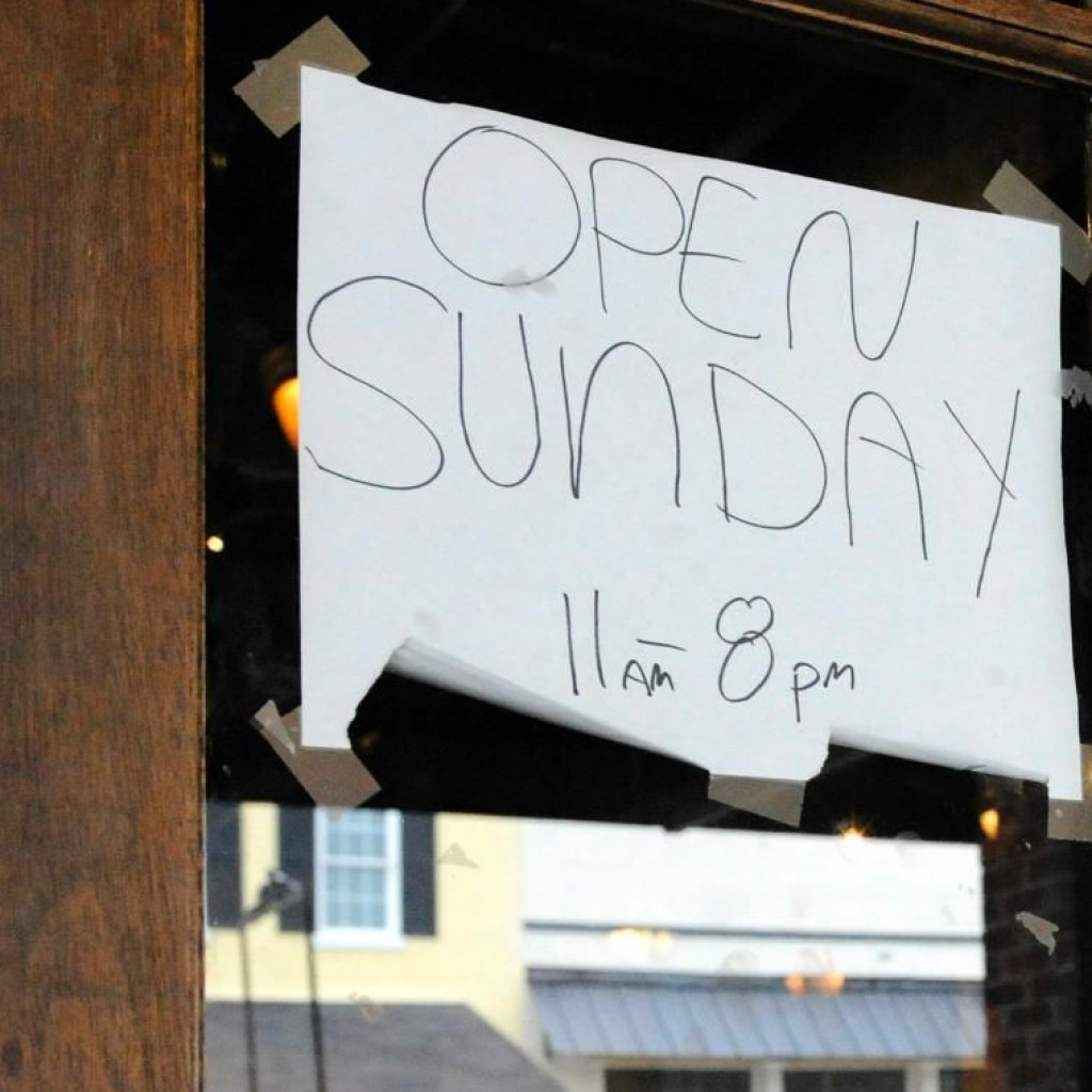 open Sunday churches influence