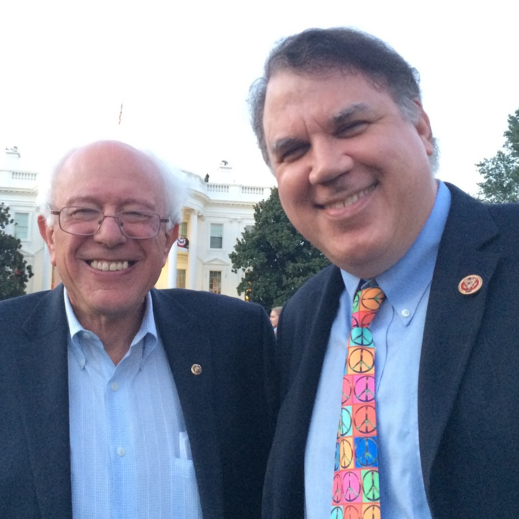 Bernie Sanders and Alan Grayson