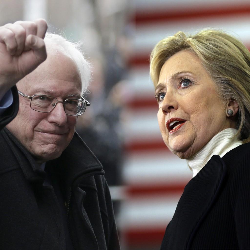 Hillary Clinton Bernie Sanders Democratic debate 02.11