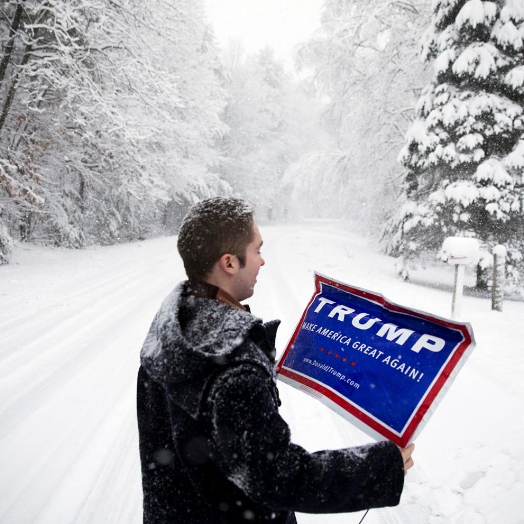 Trump supporter New Hampshire