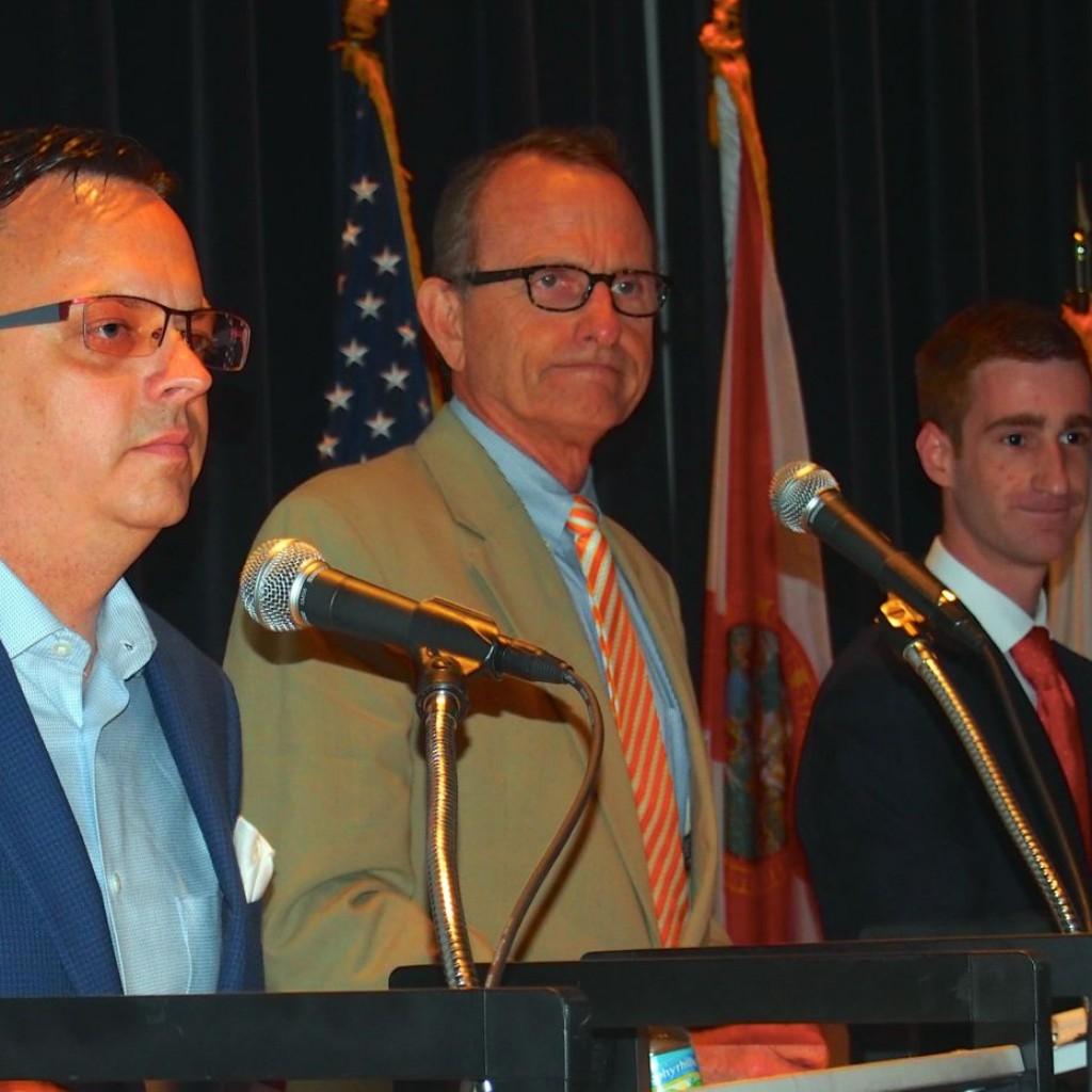 Timothy McKinney, Ted Edwards and Gregory Eisenberg