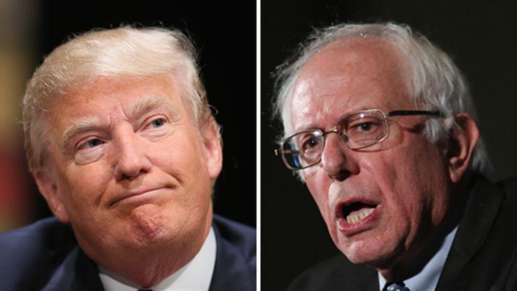politics archive bernie sanders donald trump