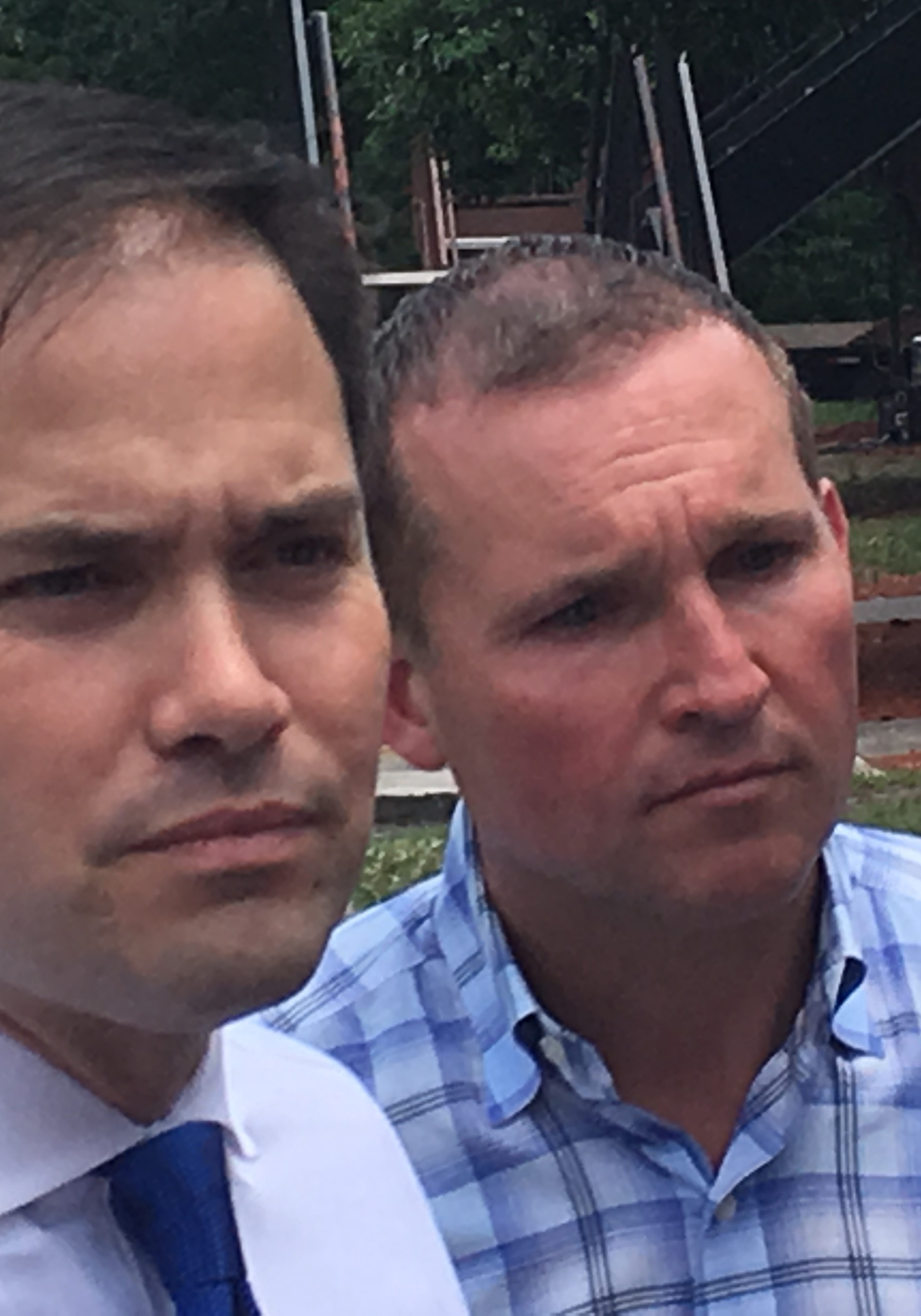 Marco Rubio and Lenny Curry