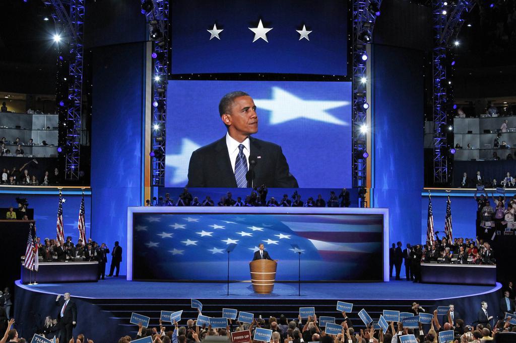 DEM 2016 Convention Obama