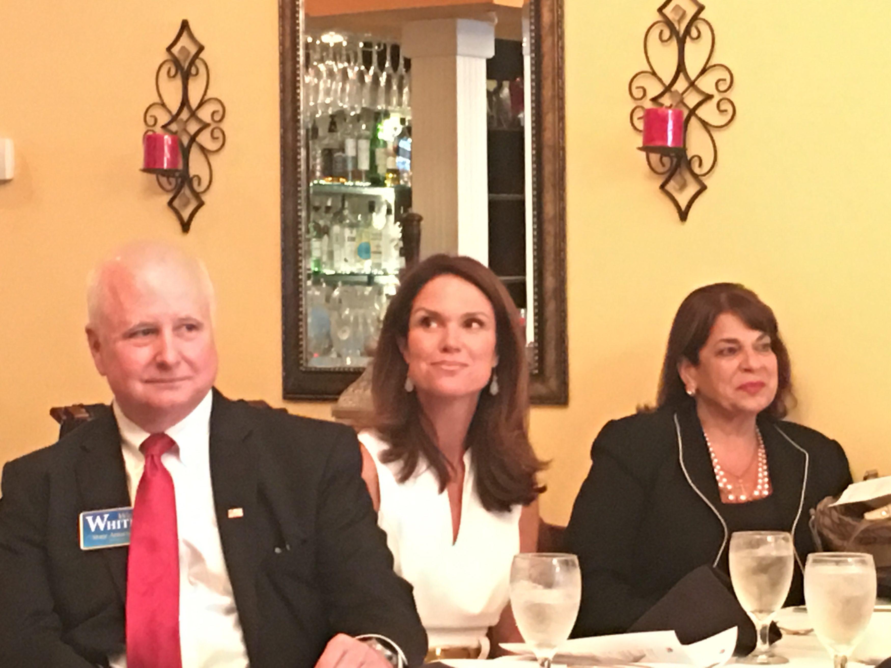 Wes White, Melissa Nelson, Angela Corey