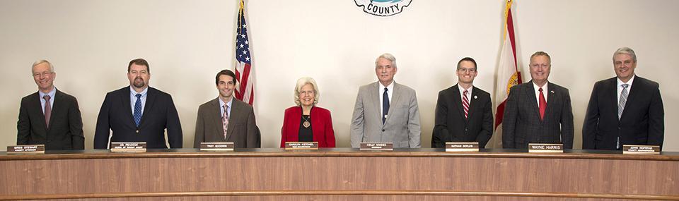 Okaloosa County commissioners