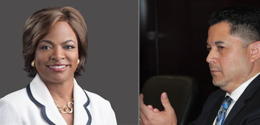 Val Demings and Henry Lim