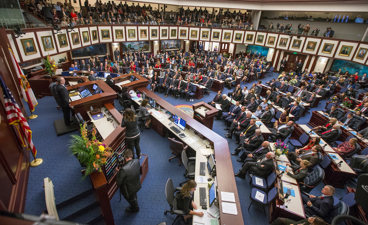 Organizational session of the Florida Legislature
