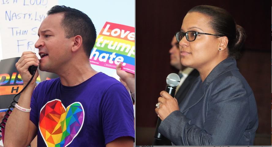 Carlos Guillermo Smith and Amy Mercado
