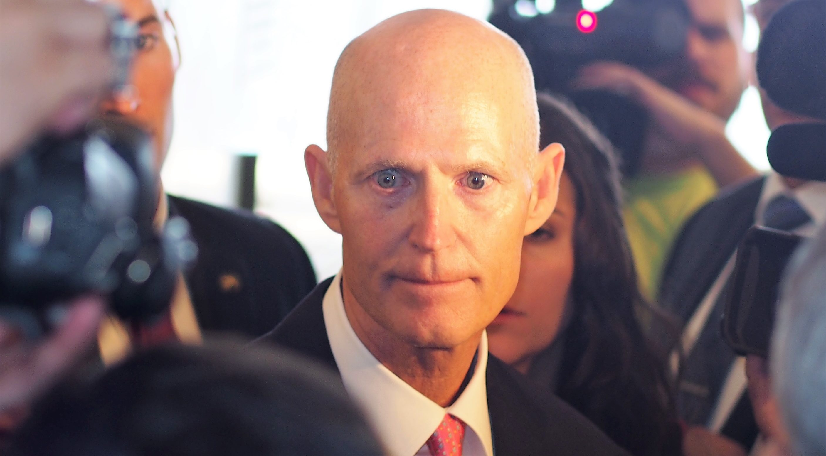 Rick Scott at AP gaggle