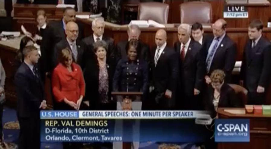 Val Demings in Congress