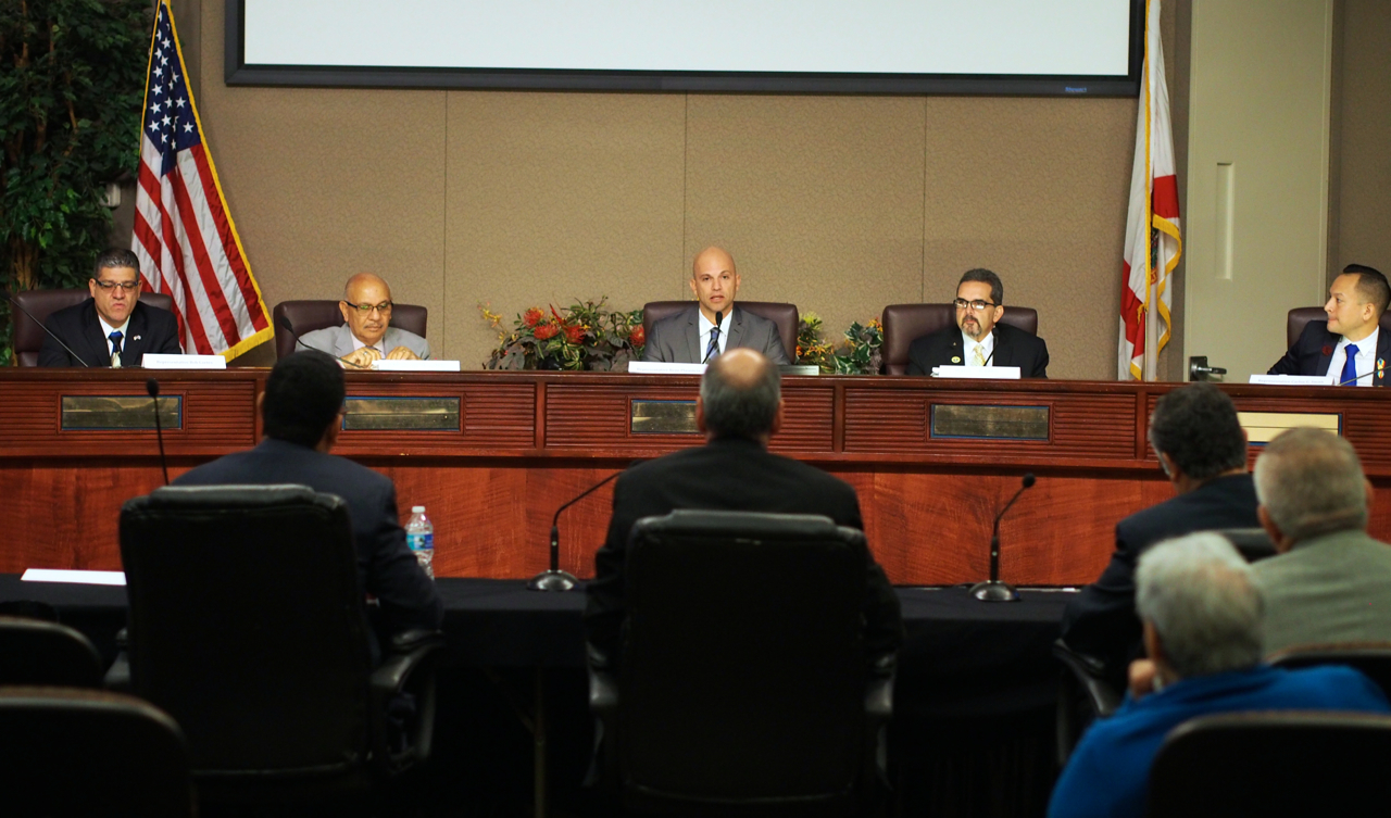 Bob Cortes, Victor Torres, Rene Plasencia, Carlos Guillermo Smith