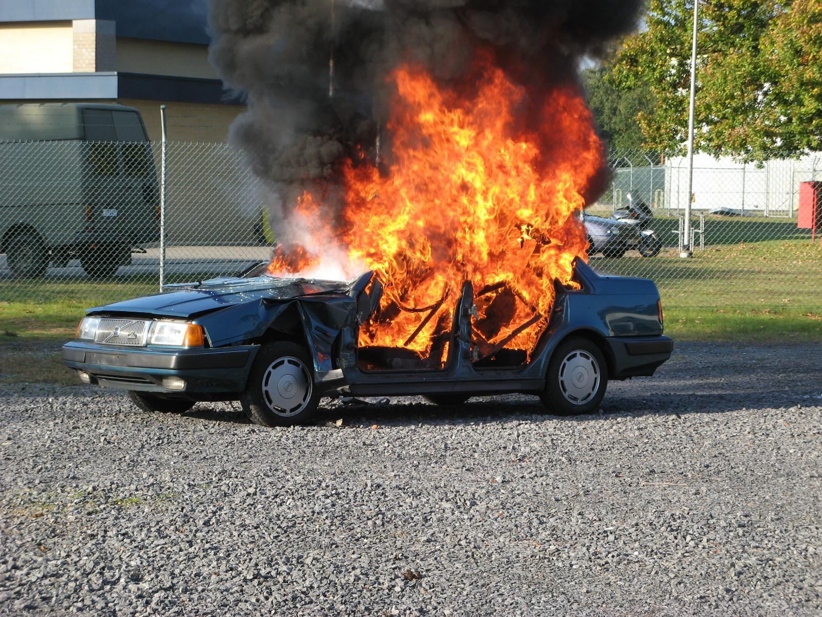 car fire arson insurance fraud