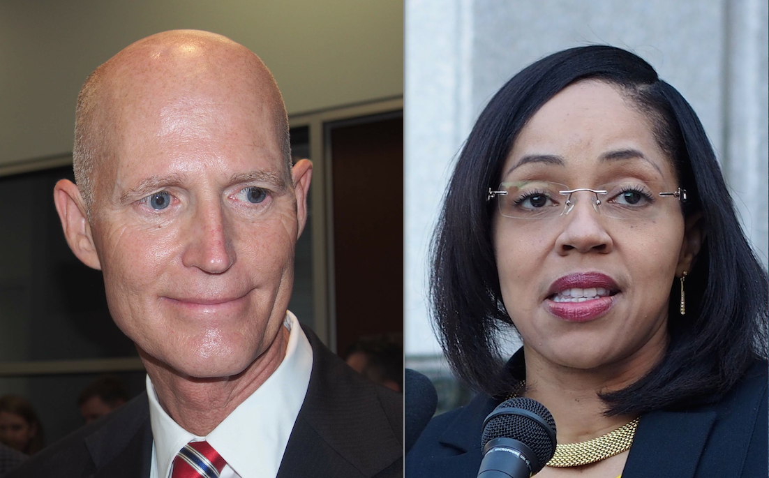 Rick Scott and Aramis Ayala