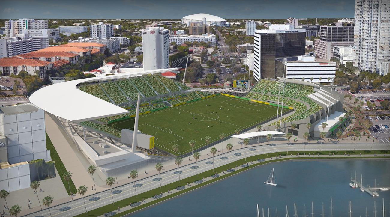 rowdies stadium pitch