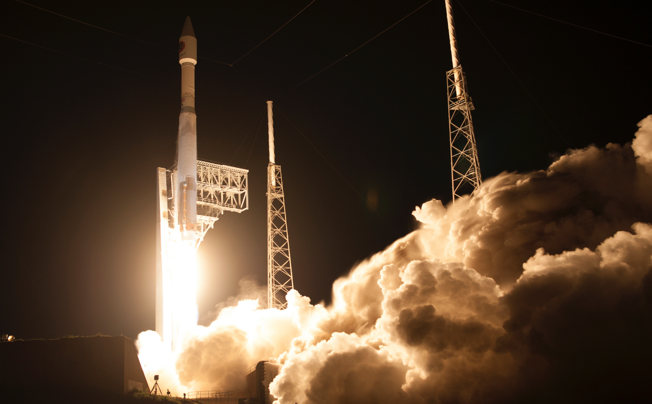 Orbital ATK United Launch Alliance Atlas V Cygnus launch March 2016