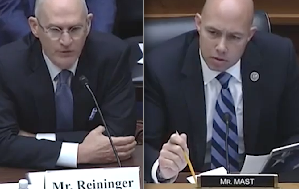 Mike Reininger and Brian Mast