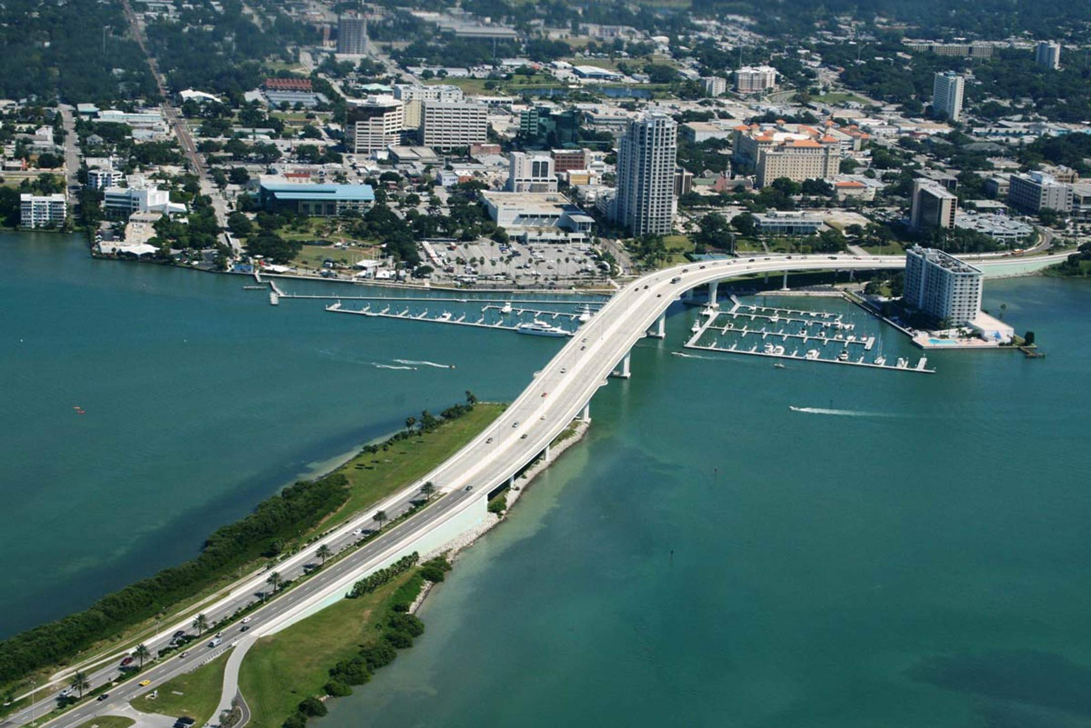 Clearwater aerial photo