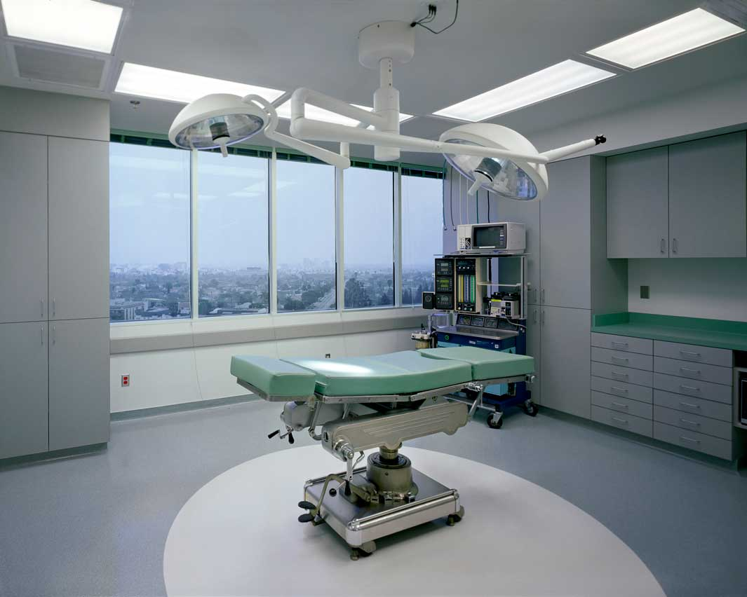 Green Operating Room, 2007 (Singular Beauty)