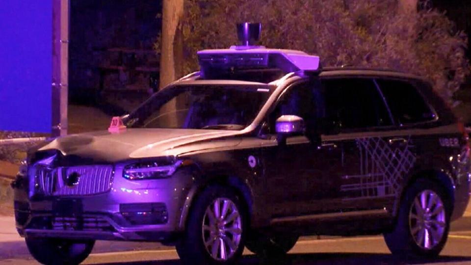 Uber self driving car pedestrian killed