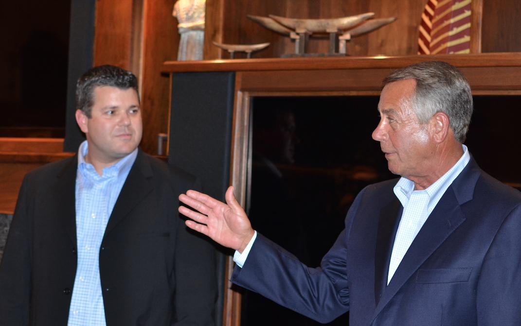 Scott Sturgill and John Boehner