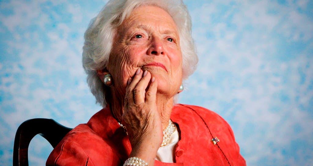 The nation says goodbye to Barbara Bush.