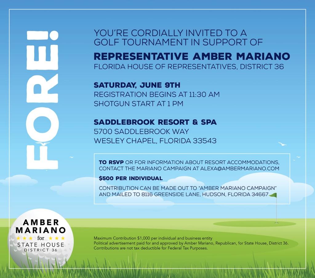 Amber Mariano Fundraiser 6.9.2018