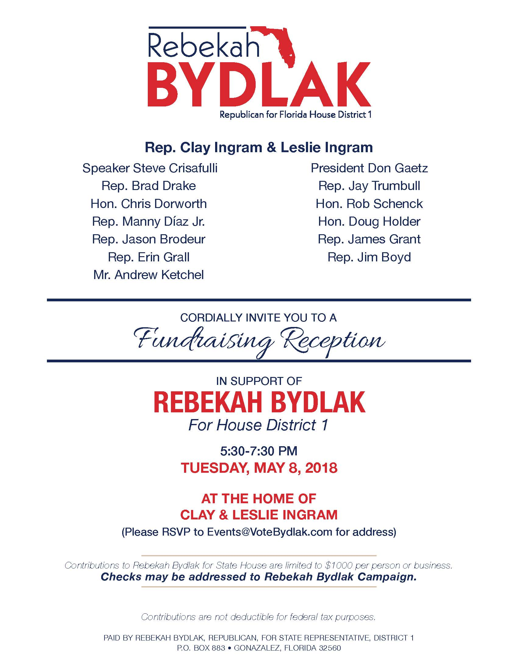 Bydlak fundraiser 5.9.2018