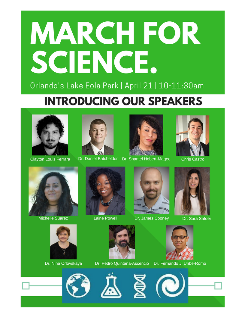 March for Science speakers