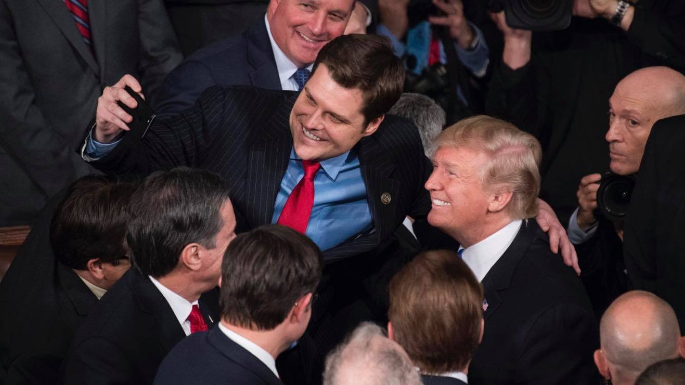 Gaetz, under investigation for sex allegations, sought blanket pardon from Trump