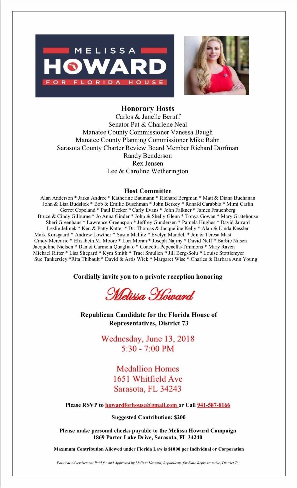 Howard Fundraiser 6.13.2018