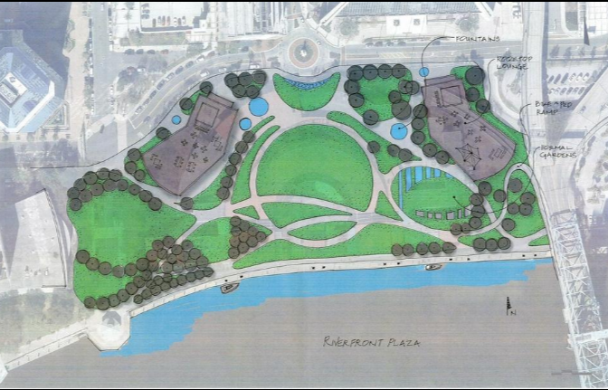 Jacksonville Landing park