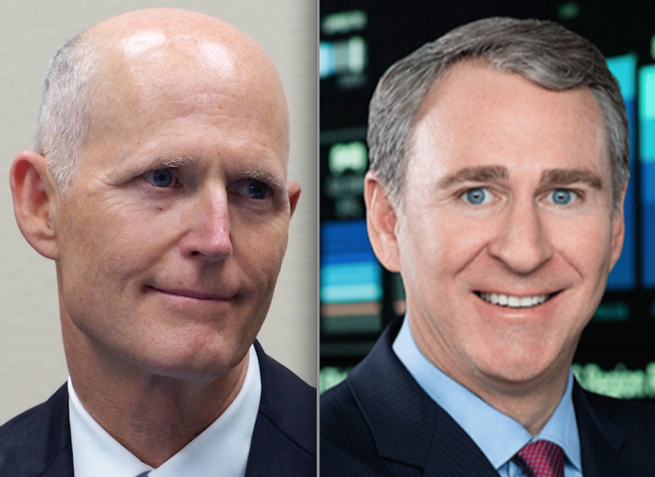 Rick Scott and Ken Griffin
