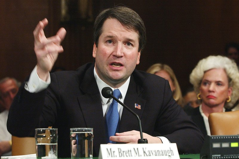 Brett Kavanaugh - AP photo