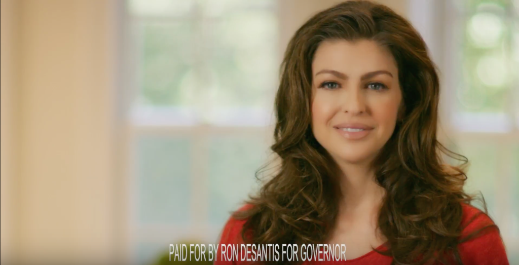 Casey Desantis Humorously Portrays Hubby As Family Man In New