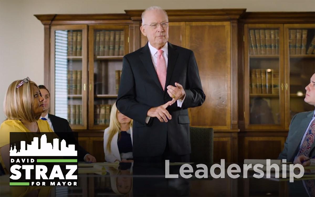 David Straz TV ad