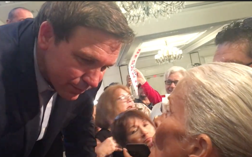 Ron DeSantis and Ginger Goepper