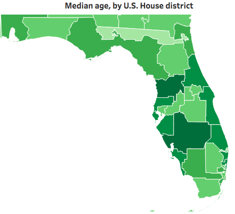 Research firm maps out Florida voter differences by congressional ...