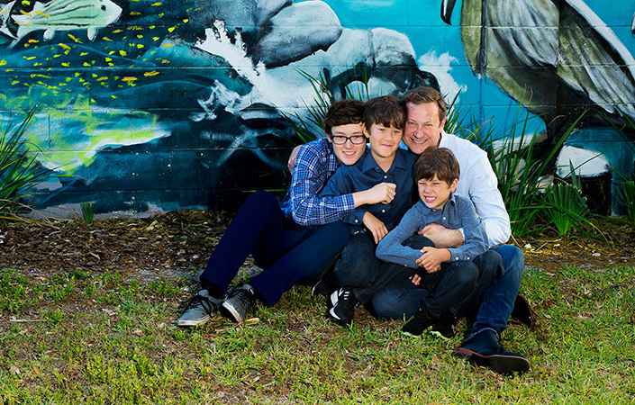Bill Carlson - Family