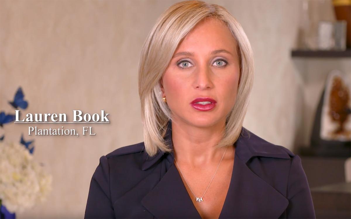 Lauren Book TV ad