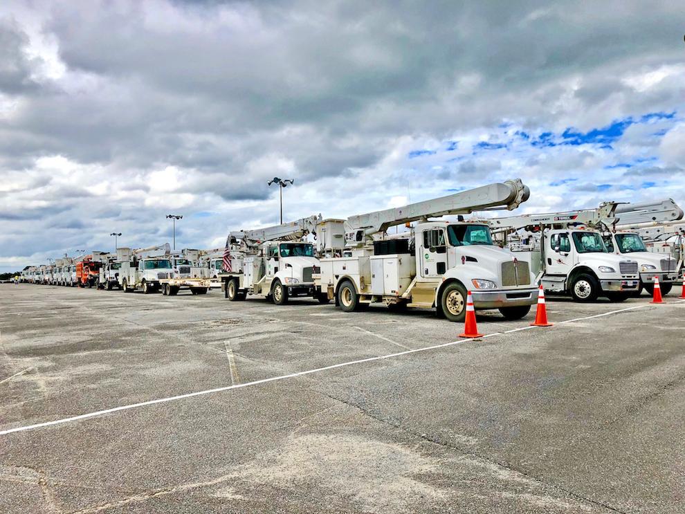 Gulf Power Trucks