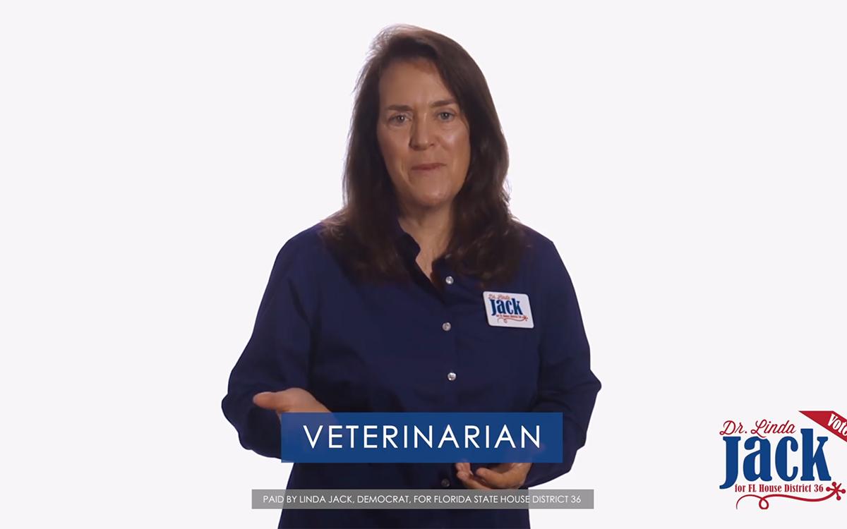 Linda Jack TV ad